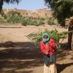 Travailleuse au champ, Ait BenHaddou