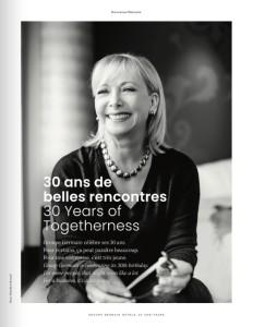 30 ANS DE BELLES RENCONTRES