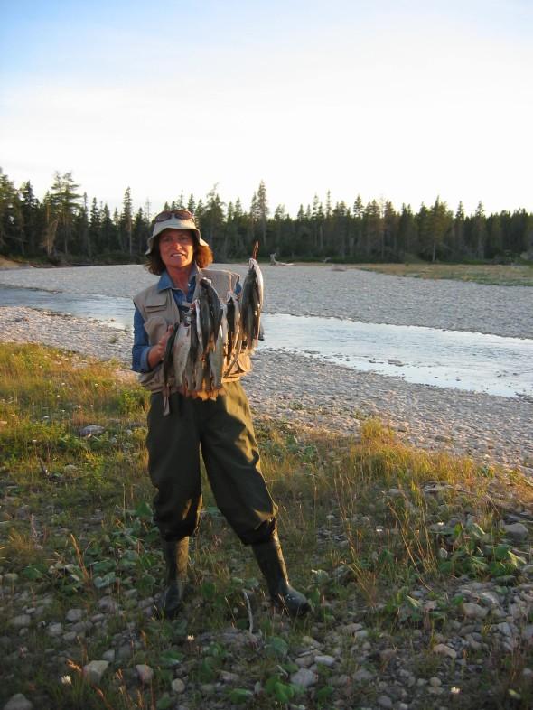 diane pêche jour 2