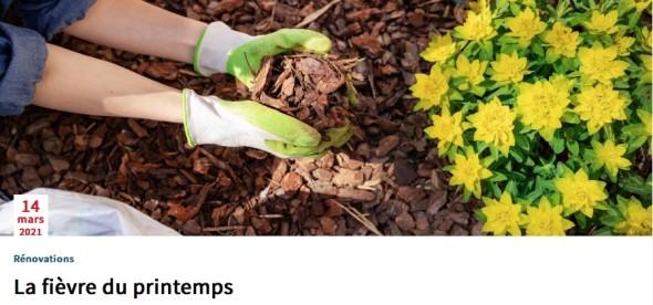 Realtor - la fièvre du printemps